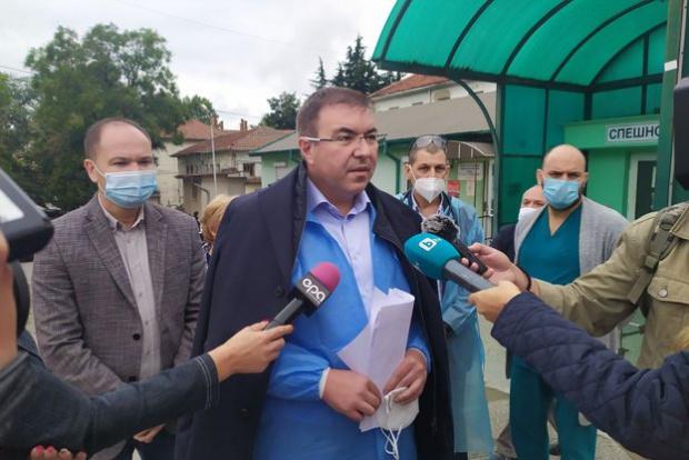 Костадин Ангелов отива да инспектира мерките срещу COVID-19 в Търговище