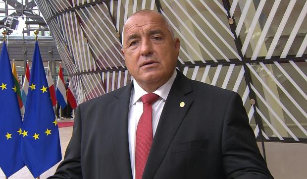 От Брюксел премиерът Бойко Борисов обяви, че карантината в България