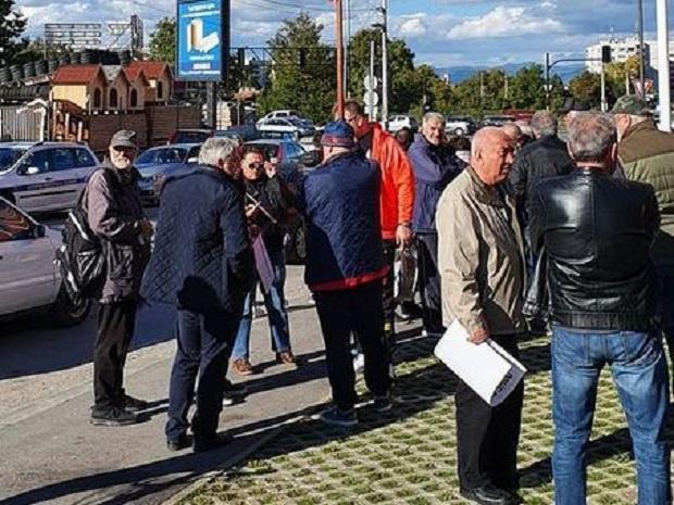 """Блокада на изхода на София към """"Тракия"""", горублянци заплащват да е всяка неделя"""