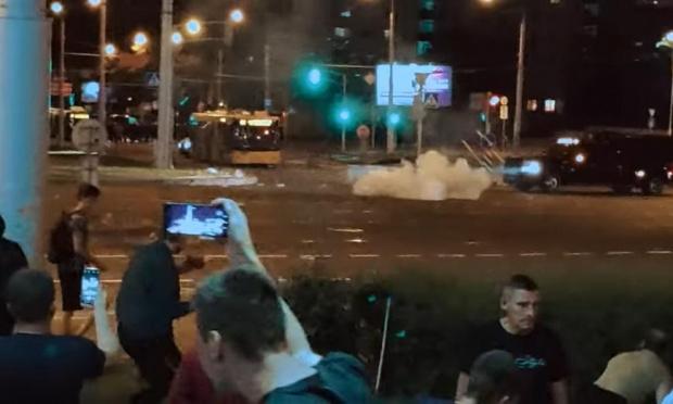 Над 30 000 на протеста в Минск, над 200 са арестувани