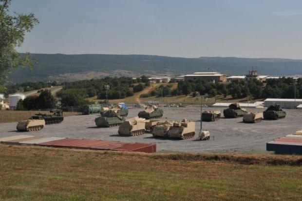Тактическо учение на 61-ва механизирана бригада