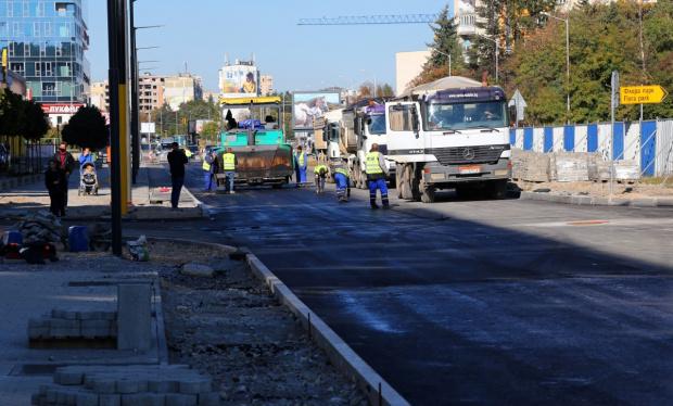 На 23 октомври ще бъде отворено за движение кръстовището на
