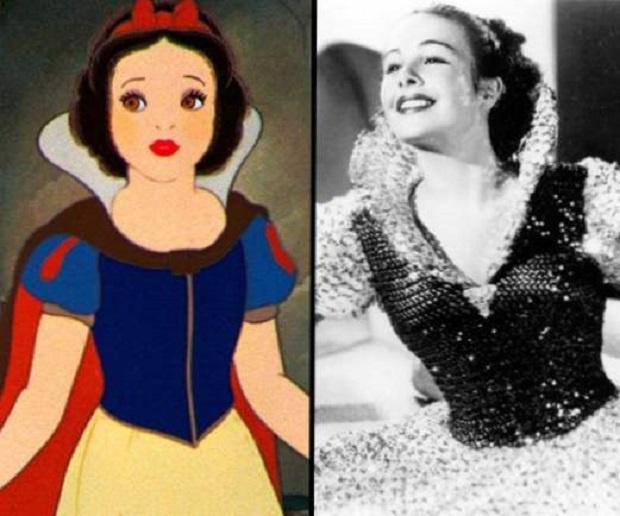Актрисата, която служи като истински модел за Снежанка, умиря на 101 години