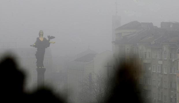 Показателите на фините прахови частици PM2.5 за София към 11