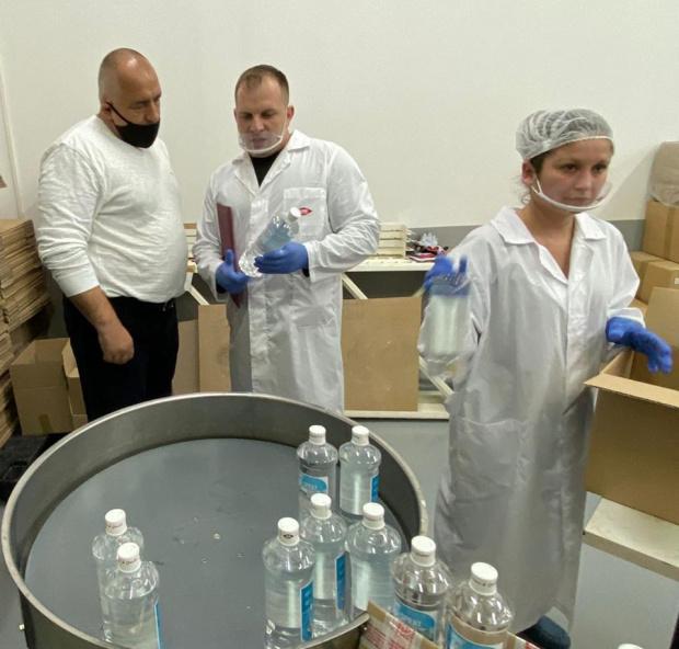 Премиерът на България Бойко Борисов е заразен с коронавирус. Това