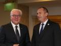 Радев обсъди с Германския президент проблемите на София със Скопие