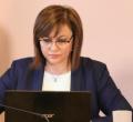 Нинова: Нещо, което ще променим след края на Борисов ще е харченето на бюджета да е прозрачно и през парламента