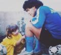 Голямата дъщеря на Марадона трогна света със снимка и послание към Златното момче