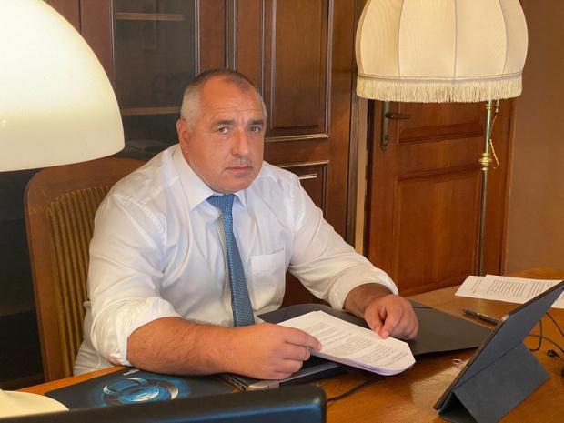 Министър-председателят Бойко Борисов проведе видеоконферентен разговор с канцлера на Федерална