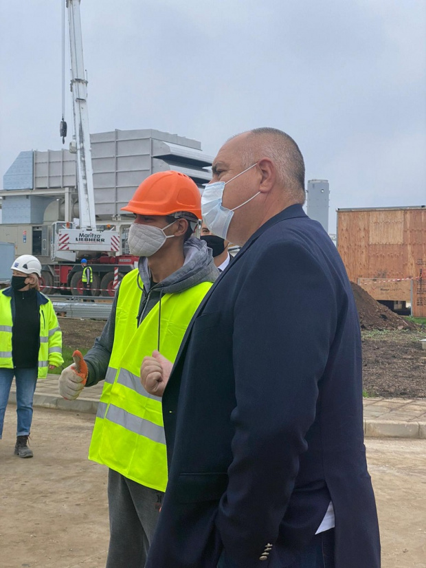 Борисов: Бизнесът може да си достави най-евтиния газ благодарение на модернизацията на тръбите ни