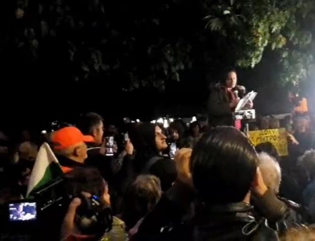 На 137-ия протест: Правителството дори с коронакризата не може да се справи