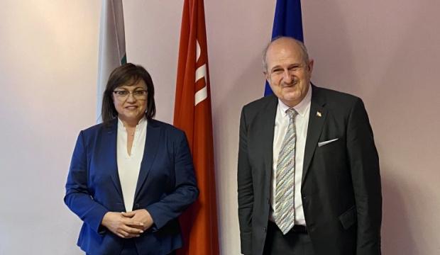 Корнелия Нинова прие специалния пратеник на правителството на Република Северна