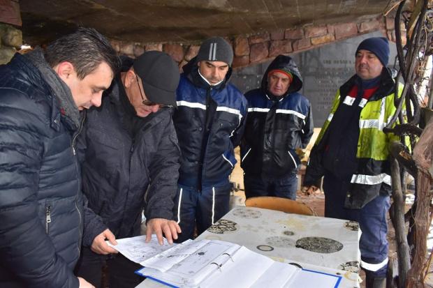 Министърът на околната среда и водите Емил Димитров посети язовир
