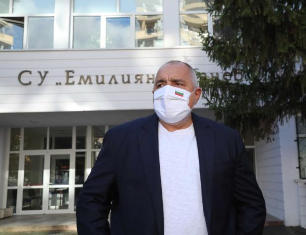 Бойко Борисов повежда листите на ГЕРБ в София и Пловдив