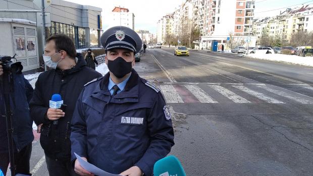 """""""Пътната полиция"""" започва акция срещу пешеходците, пресичащи неправилно в населените"""