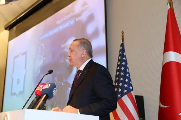 Ердоган обвини САЩ, че подкрепят терористичната Кюрдската работническа партия