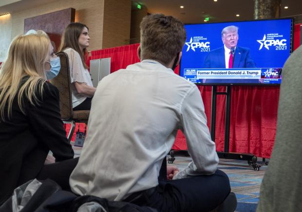 Доналд Тръмп изнесе първата си реч след напускането на поста
