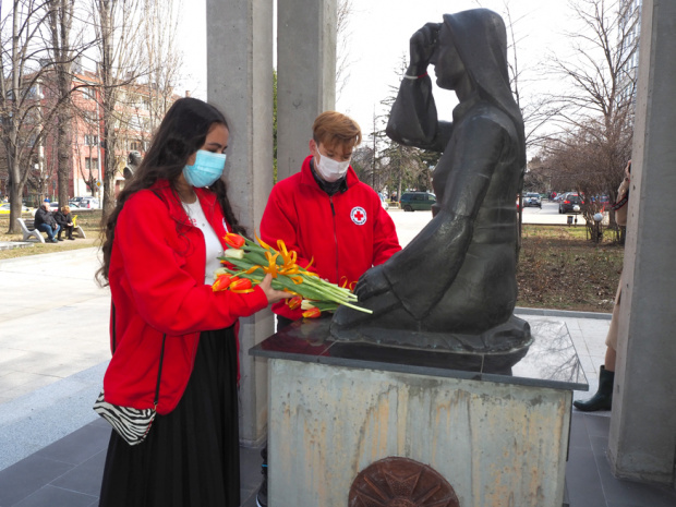 Въпреки извънредната епидемиологична обстановка Българският Червен кръст отново намери начин
