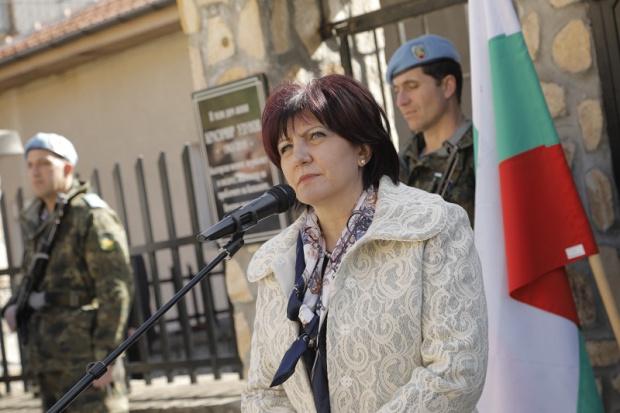 Снимка: Караянчева на Шипка: Да намерим обща цел, която да ни обедини