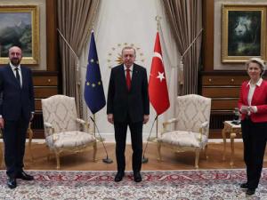 Фон дер Лайен, Мишел и Ердоган с опит за затопляне на отношенията Брюксел-Анкара