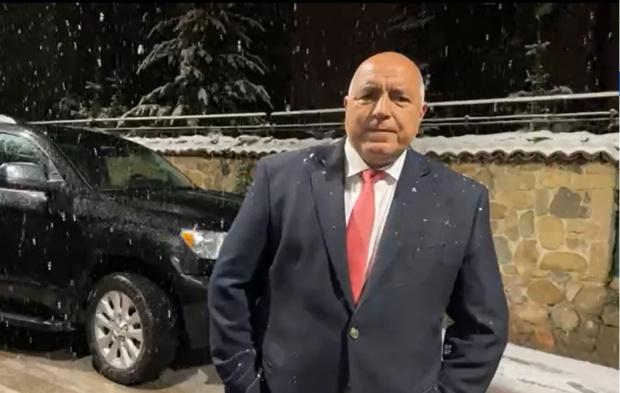Борисов НА ЖИВО: Радвам се, че толкова партии влизат в парламента, омръзна ми да нося сам отговорност