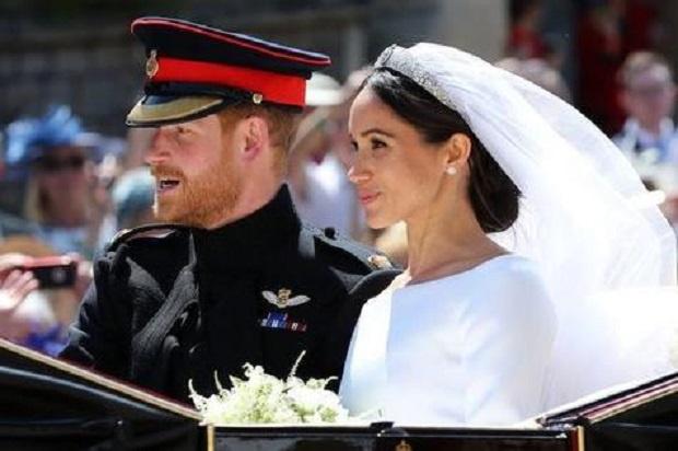 Британският принц Хари и съпругата му Меган почетоха паметта на принц Филип