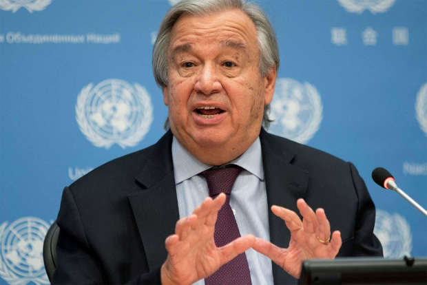 """Шефът на ООН иска налагане на данък """"пандемия"""""""