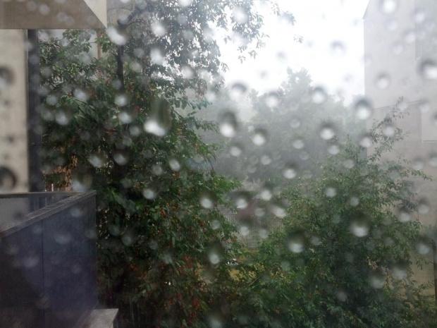 Облачна и дъждовна събота