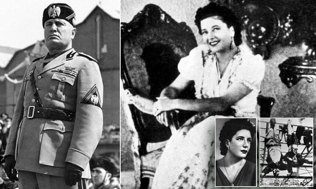 Свирепият диктатор Мусолини бил сексмашина и го правил с по 4 дами на ден, но сношенията били кратки