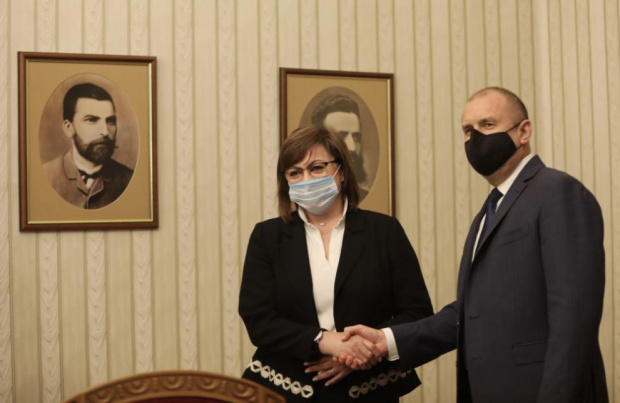 ВИДЕО Нинова обяви, че БСП ще гласува за кабинет на Слави, ако обещаят да гонят Борисов до дупка