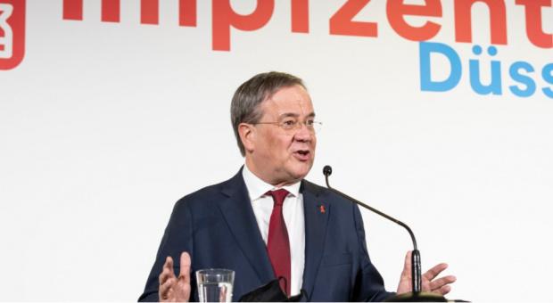 Армин Лашет наследява Меркел на върха на ХДС