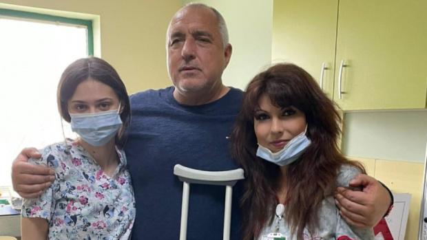 Борисов остава в болницата, няма да се яви в Народното събрание утре