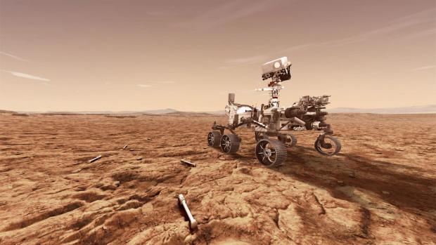 Марсоходът, пратен от НАСА, извлече безопасен за дишане кислород от Червената планета