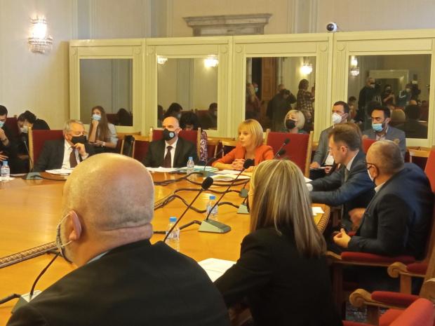 Председателят на временната комисия по проверка за установяване на злоупотреби