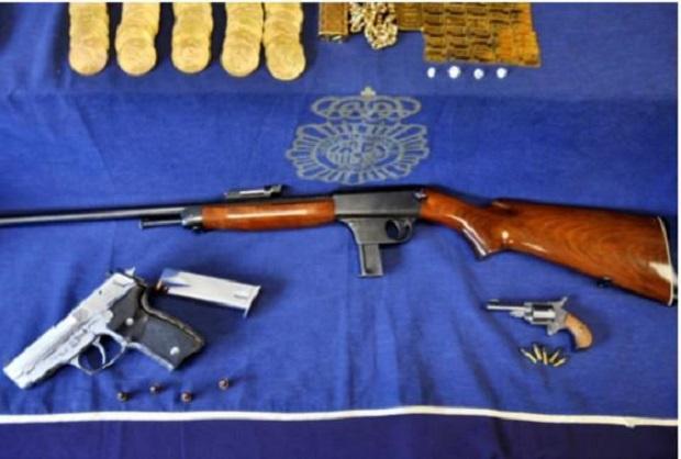 Куп оръжия открити в дома на психично болния убиец от Манастирище