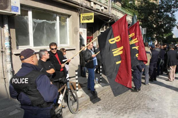 ВМРО с протестна акция пред НС срещу промените в Изборния кодекс