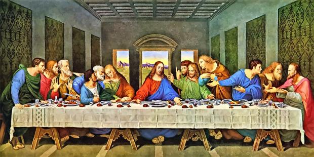 На Велика сряда е Тайната вечеря на Божия син с