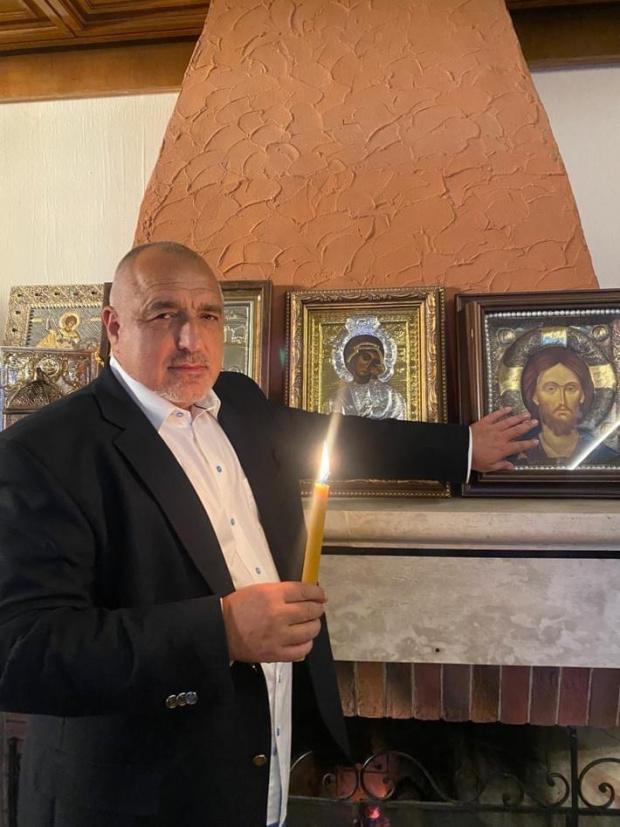 Борисов с политическо послание в изявлението си за Великден