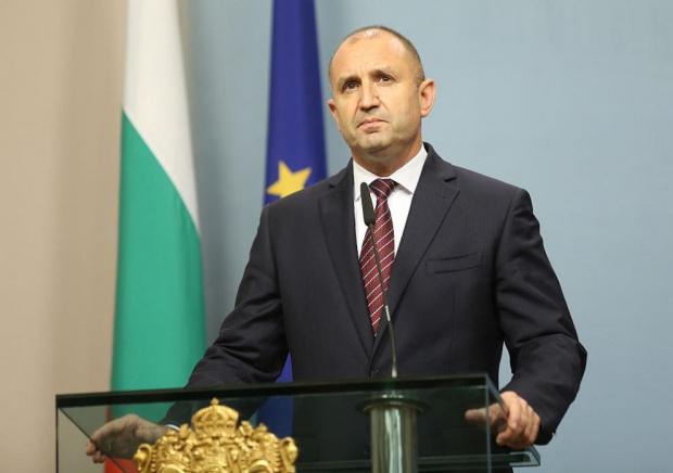 Президентът и върховен главнокомандващ Румен Радев поздрави българите и всички