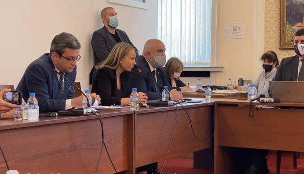 Каназирева пожела да се пропусне изслушването на Илчовски - не бил казус за Комисията за проверка