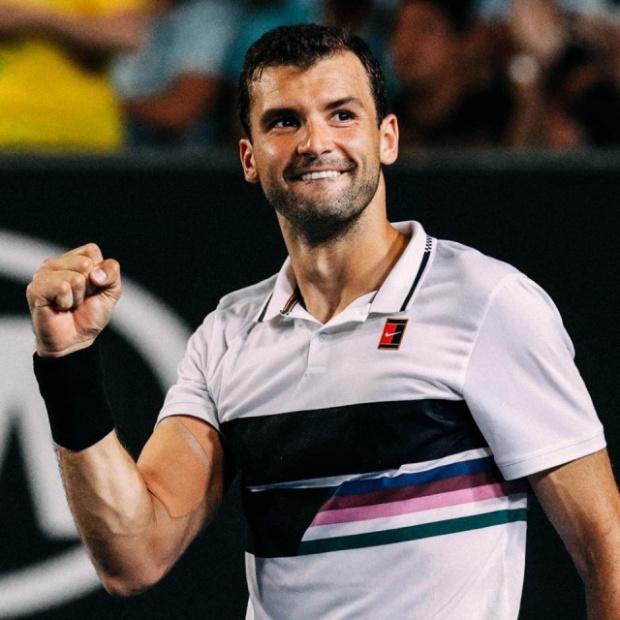 Най-добрият български тенисист Григор Димитров запази мястото си в световната