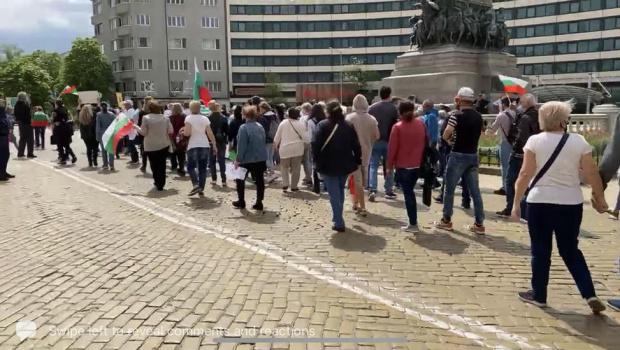 Десетки граждани и екоактивисти протестираха пред Министерски съвет и поискаха