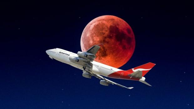 Авиокомпания пусна полет до никъде,с който ще се наблюдава Суперлуната от над 12 км над Земята