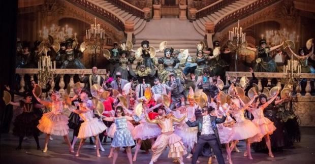 """Мюзикълът """"Фантомът на операта"""" - в Античния театър"""