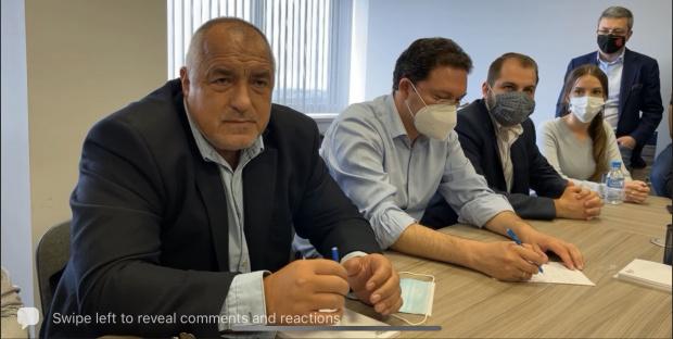 ВИДЕО Борисов пак се пусна на живо: Изчегъртват професионалисти! Балтов не е ли уволнен?