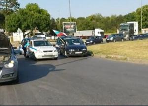 Блокадите на пътя Гълъбово- Мъдрец ще продължат и следващата седмица