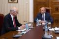Президентът се срещна с шефа на КЕВР Иван Иванов
