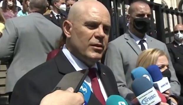 Главният прокурор Иван Гешев проведе работна среща с прокурорите и