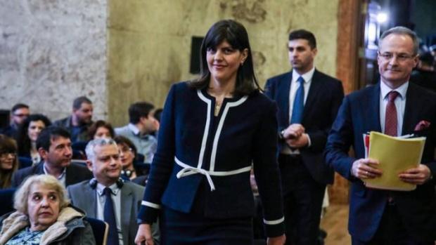 Изненадваща визита: Лаура Кьовеши пристига в България