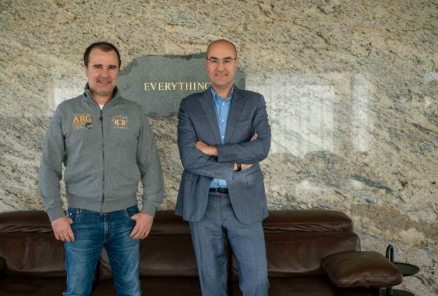 Собствениците на компанията за залагания Efbet Стефан, Боян и Цветомир